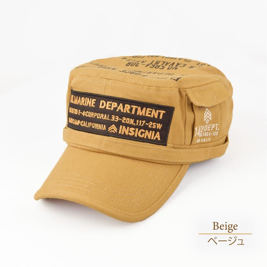 4682-436L ワークキャップ 帽子 Military メンズ レディース ワーカー ワッペン キャンバス ユニセックス 41
