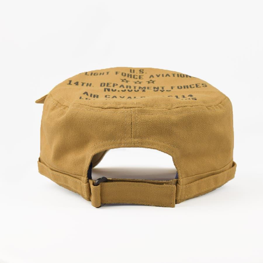 4682-436L ワークキャップ 帽子 Military メンズ レディース ワーカー ワッペン キャンバス ユニセックス 2