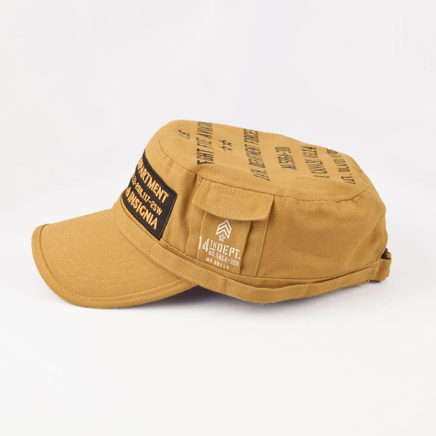 4682-436L ワークキャップ 帽子 Military メンズ レディース ワーカー ワッペン キャンバス ユニセックス 3