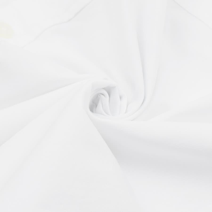 9341-610 韓国 ストリート ロゴ プリント モノトーン ルーズ オーバーサイズ シャツ メンズ レディース ユニセックス 秋 秋物 AW アウター トレンド シャツ アウター シャツアウター 7