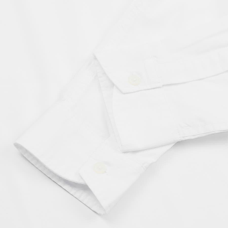 9341-610 韓国 ストリート ロゴ プリント モノトーン ルーズ オーバーサイズ シャツ メンズ レディース ユニセックス 秋 秋物 AW アウター トレンド シャツ アウター シャツアウター 8