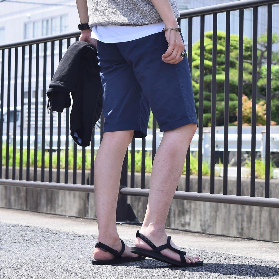 大きいサイズ  製品染め ストレッチツイル ショーツ ショートパンツ パンツ カジュアル サーフ アメカジ マリン 春 春物 夏 夏物 SS 半ズボン ズボン メンズ   9753-500L 2