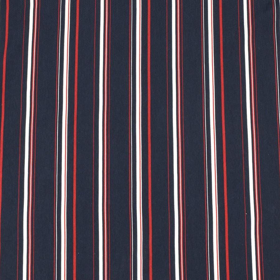PTストライプ 半袖 オープンカラーシャツ 9343-600 7