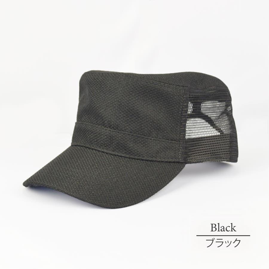 0683-805 帽子 キャップ ワーク メッシュ キャップ デニム ストライプ ヒッコリー  ダメージ 加工 ビンテージ メンズ レディース ユニセックス 21