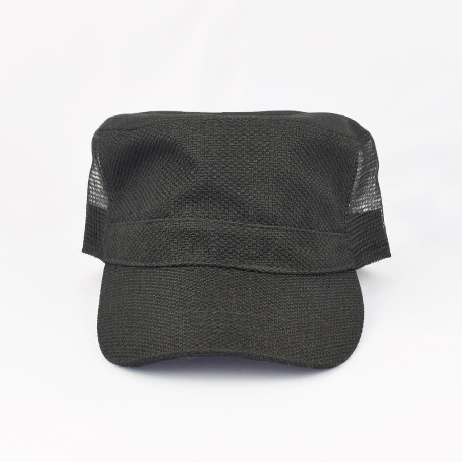 0683-805 帽子 キャップ ワーク メッシュ キャップ デニム ストライプ ヒッコリー  ダメージ 加工 ビンテージ メンズ レディース ユニセックス 4