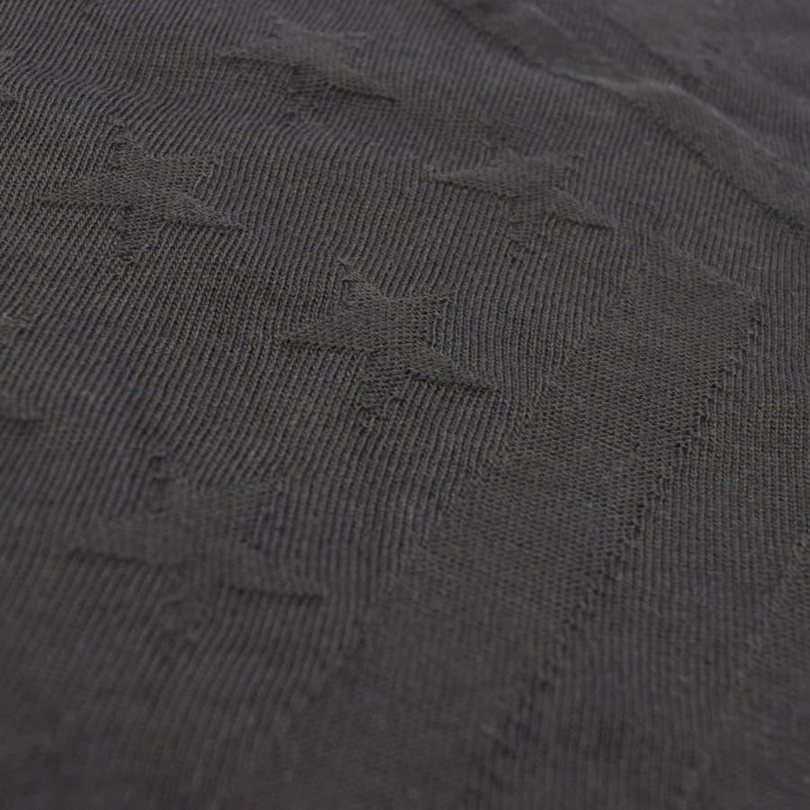 0703-720 リンクス ジャカード ビッグT Tシャツ 服 半袖 ジャガード 国旗 星条旗 クルーネック シンプル ナチュラル 春 夏 春服 夏服 春物 夏物 ポケット プチプラ  ルーズシルエット ビックシルエット BIG メンズ レディース ユニセックス 6