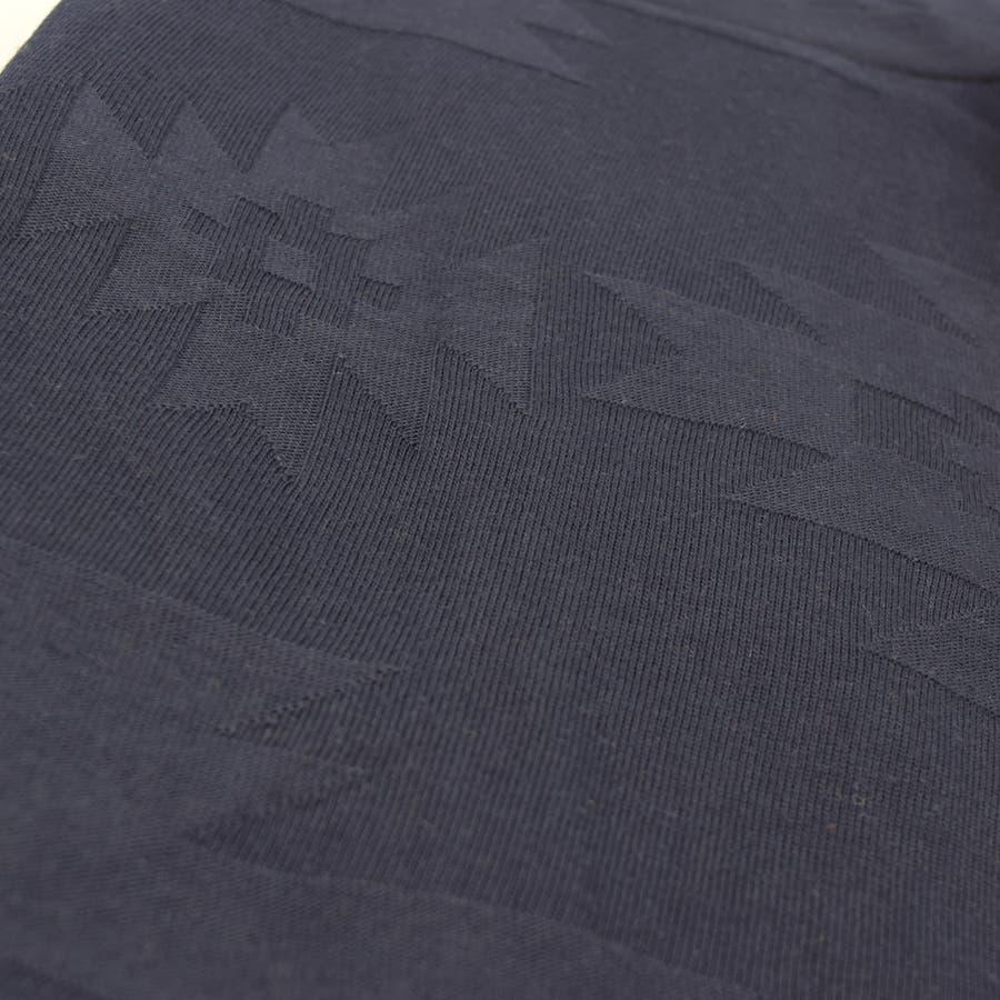 0703-721 リンクス ジャカード ビッグT Tシャツ 服 半袖 ジャガード オルテガ クルーネック シンプル ナチュラル 春 夏 春服 夏服 春物 夏物 ポケット プチプラ  ルーズシルエット ビックシルエット BIG メンズ レディース ユニセックス 7