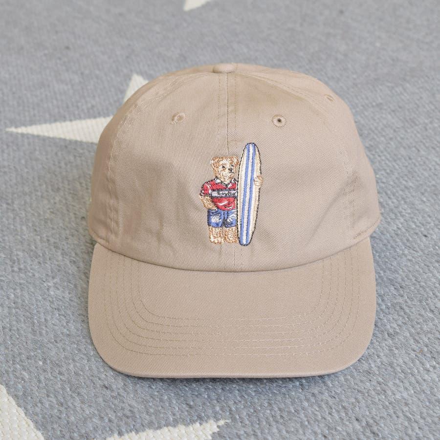 TDBR-006 テディベア 刺繍 ローキャップ キャップ フルフェイス くま Teddy Bear メンズ レディース ユニセックス フリーサイズ かわいい ナチュラル ワンポイント 4