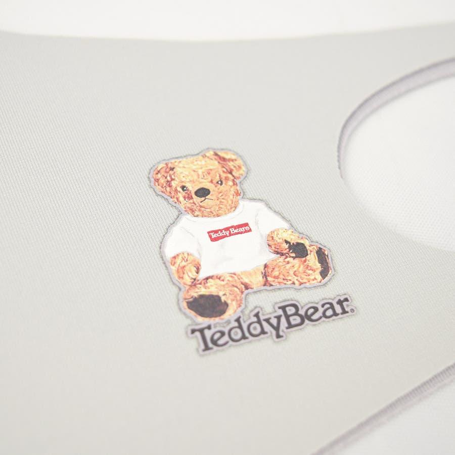 TDBR-053 マスク ファッションマスク  テディ テディベア Teddy Bear くま かわいい ワンポイント 手洗い可 ウォッシャブル  ストリート 韓国 韓国ファッション 通勤 通学 抗菌 消臭 UVカット 吸水速乾 伸縮性  メンズ レディース ユニセックス 男女兼用  7