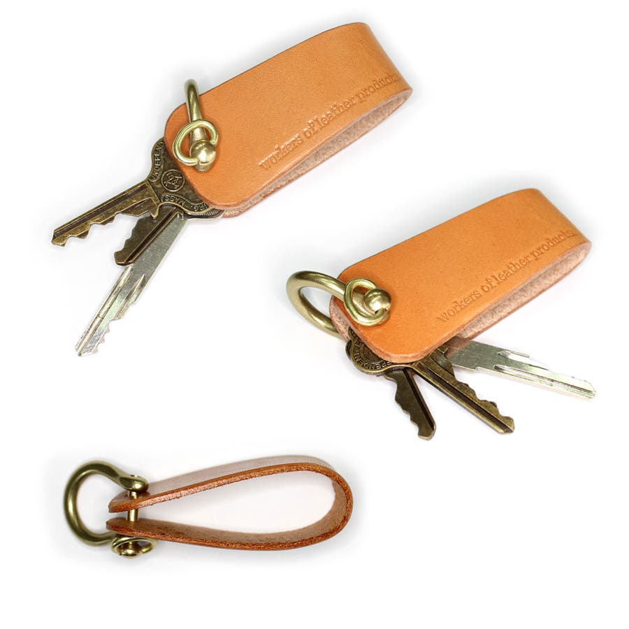 キーケース キーホルダー  レザー 本革 wlp-016 workers of Leather products  4