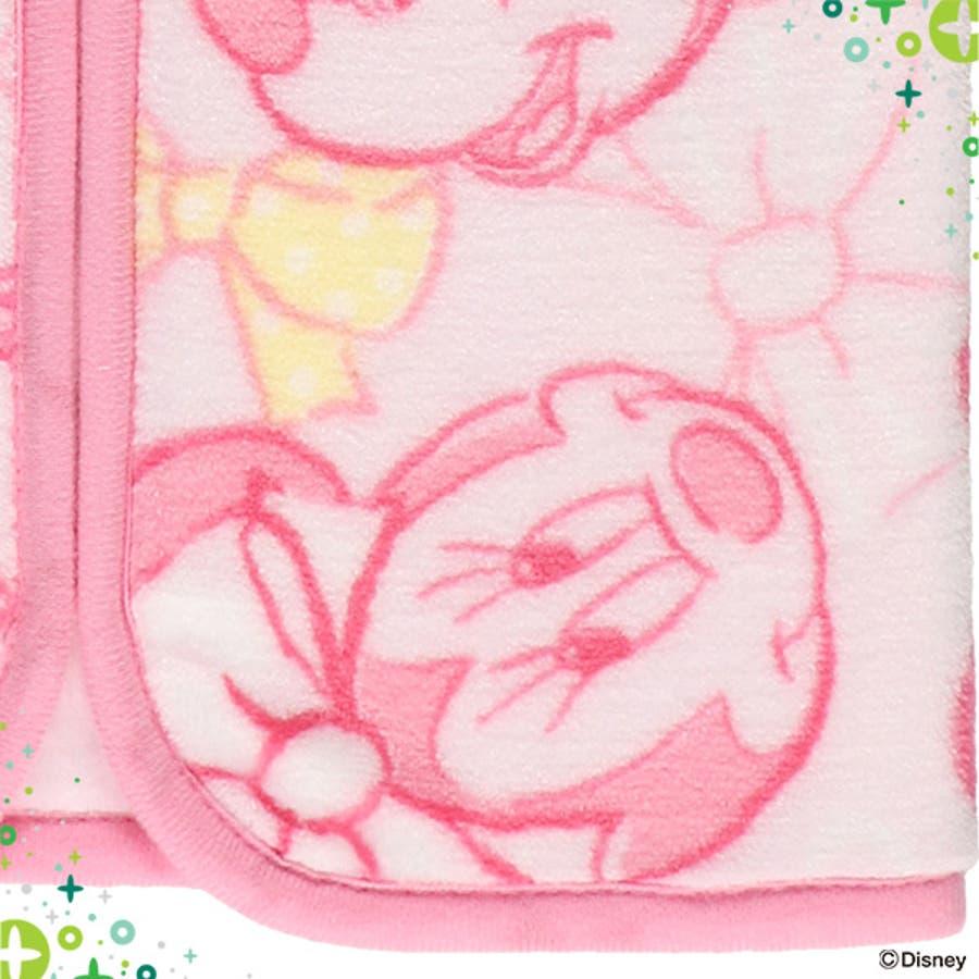 [ディズニー]ミニスリーパー(ミニー)[かいまき スリーパー 毛布 かいまき毛布 冬 ベビー 子供 キッズ 秋冬 赤ちゃん 出産祝い着る毛布 あったか寝具 寝具 お昼寝 防寒 子ども 出産 祝い ギフト 男の子 女の子 ベビーグッズ ベビー用品] 5