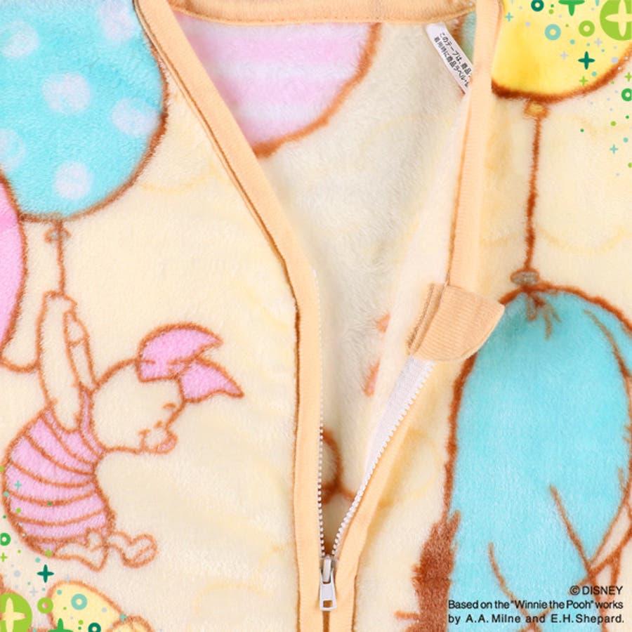 [ディズニー]ミニスリーパー(プーさん)[かいまき スリーパー 毛布 かいまき毛布 冬 ベビー 子供 キッズ 秋冬 赤ちゃん 出産祝い着る毛布 あったか寝具 寝具 お昼寝 防寒 子ども 出産 祝い ギフト 男の子 女の子 ベビーグッズ ベビー用品] 3
