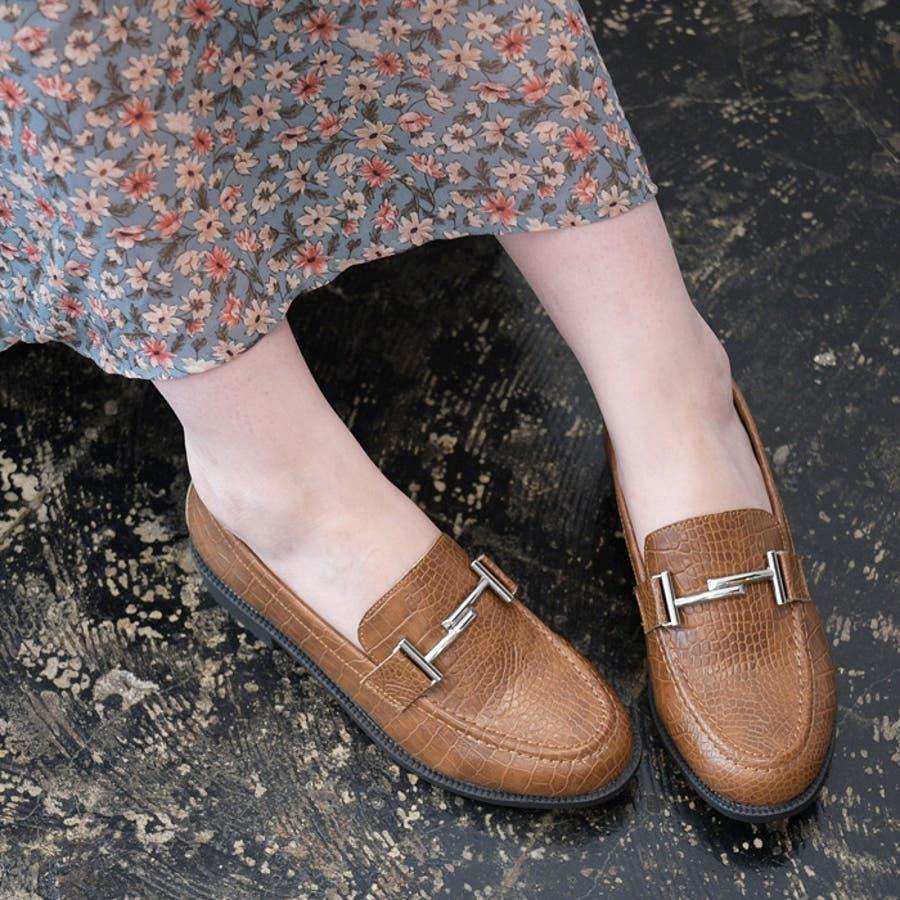 レディース 靴 ローファー マニッシュ シンプル おしゃれ ビット 可愛い 黒 ブラック ブラウン クロコ ベージュ フラット歩きやすい NOFALL SANGO サンゴ ノーフォール 21571 29