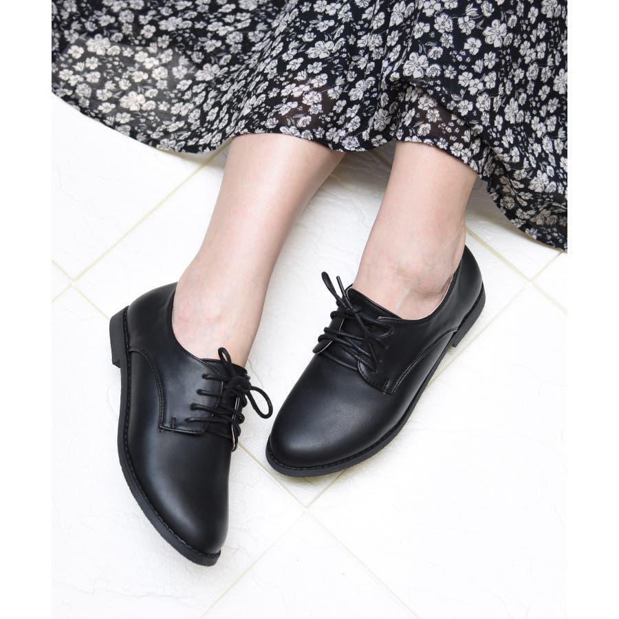 sangoのマニッシュシューズおじ靴 レディース オックスフォード プレーンシューズ エナメル マニッシュ フラットヒール 黒 ダークブラウン ホワイト NOFALL nofall SANGO sango ノーフォール サンゴ 21