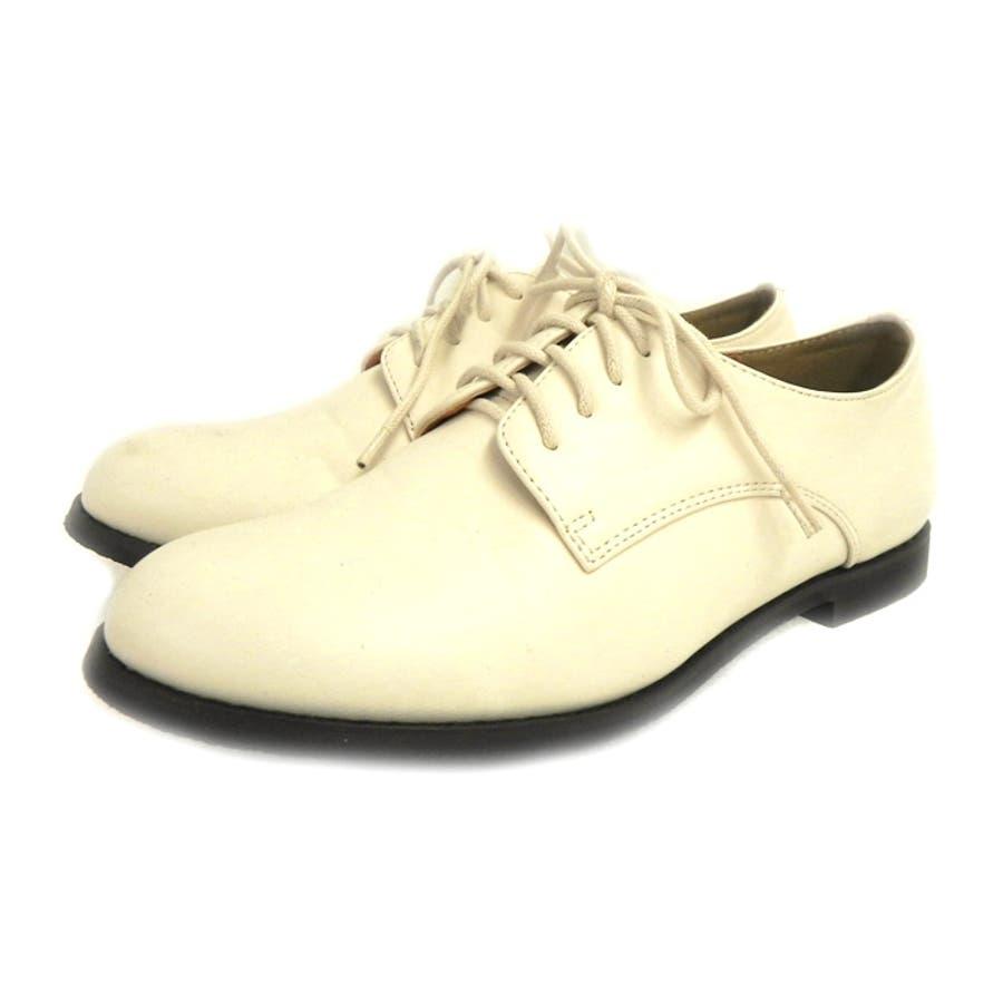 sangoのマニッシュシューズおじ靴 レディース オックスフォード プレーンシューズ エナメル マニッシュ フラットヒール 黒 ダークブラウン ホワイト NOFALL nofall SANGO sango ノーフォール サンゴ 18