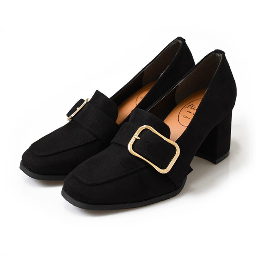 靴 レディース シューズ パンプスローファー マニッシュ スクエアトゥ ヒール おしゃれ かわいい 黒 ブラック ブラウン 美脚 NOFALL SANGO サンゴノーフォール 21666 21