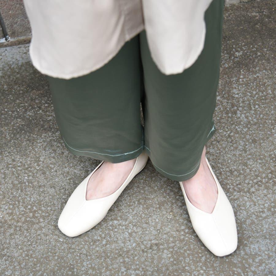 スクエアトゥ パンプス 靴 41