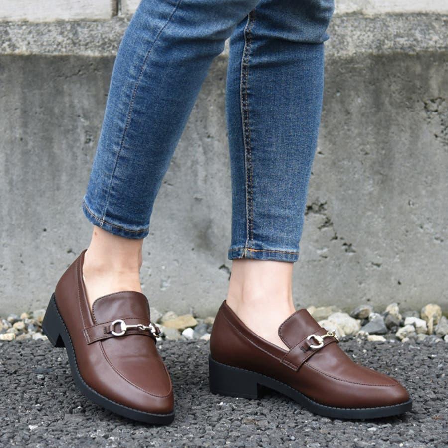靴 レディース ローファー 1