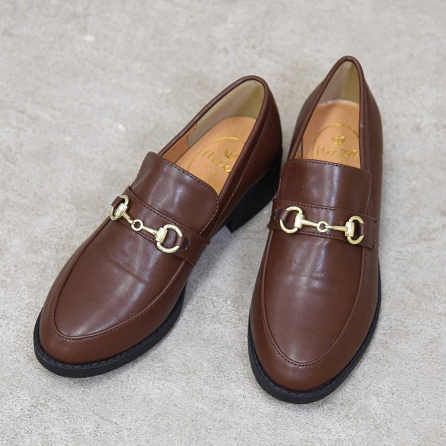 靴 レディース ローファー 2