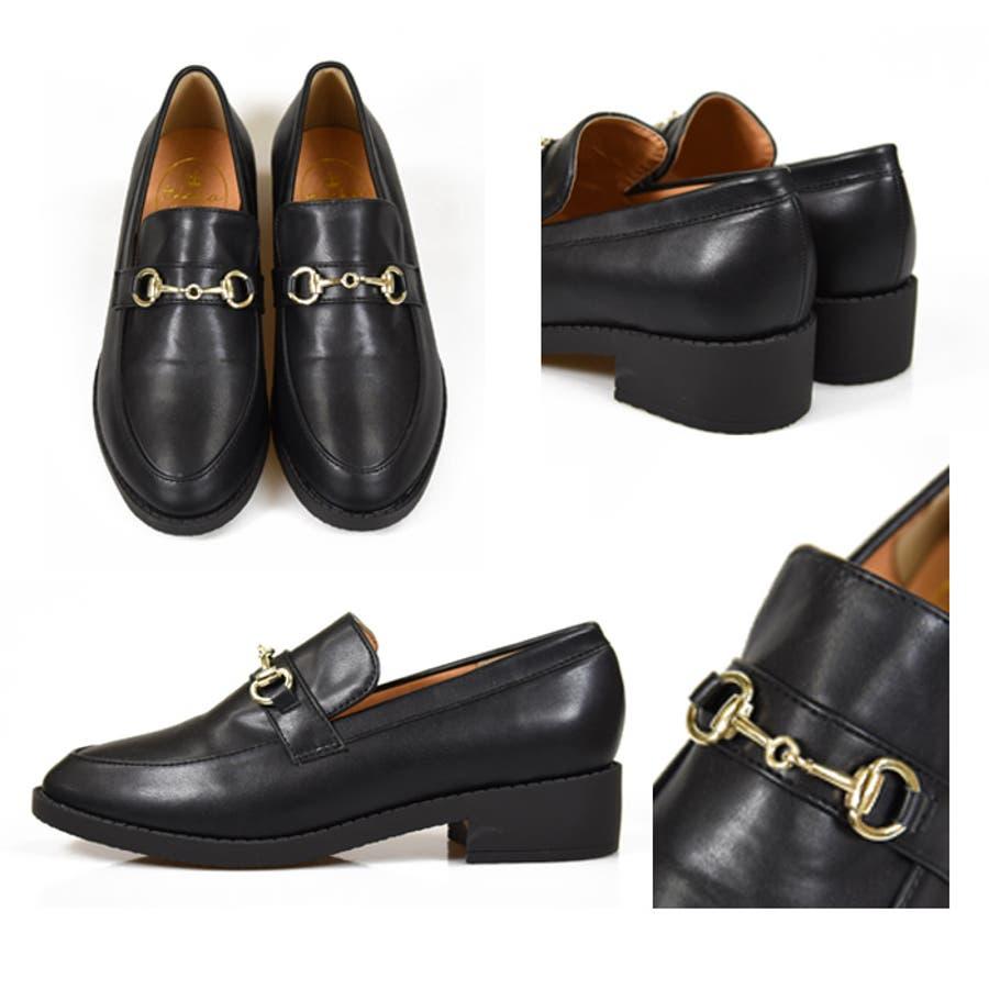 靴 レディース ローファー 10