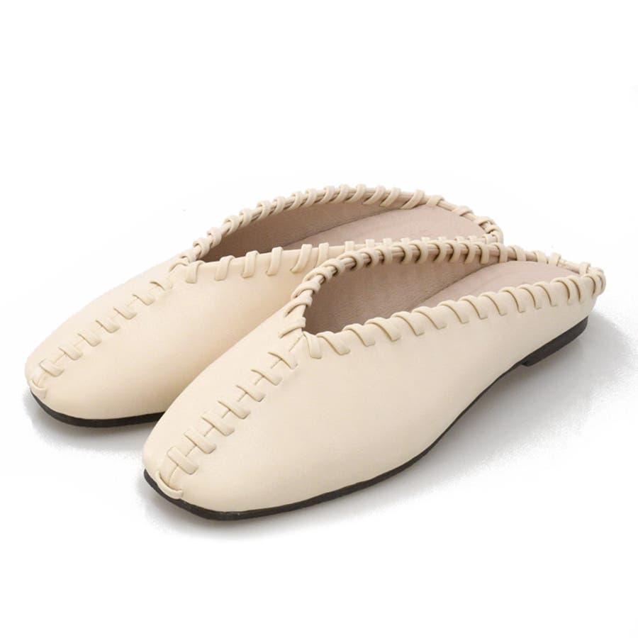 靴 レディース ステッチ 18