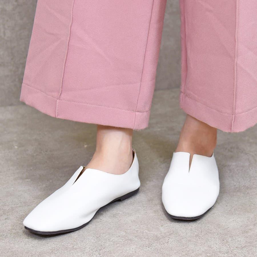 靴 レディース パンプス スリッポンバブーシュ おしゃれ 大人 柔らかい 軽い スクエアトゥ ブラック ベージュ ブラウン ホワイト 黒 NOFALLSANGO 21673 16