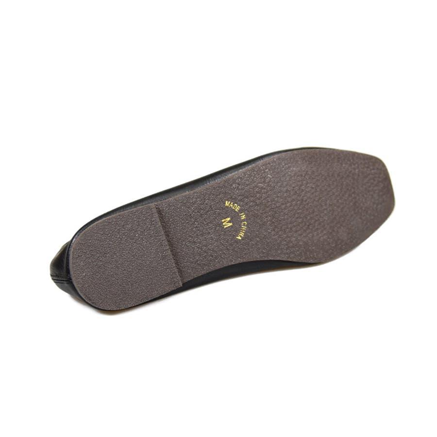 靴 レディース パンプス スリッポンバブーシュ おしゃれ 大人 柔らかい 軽い スクエアトゥ ブラック ベージュ ブラウン ホワイト 黒 NOFALLSANGO 21673 9