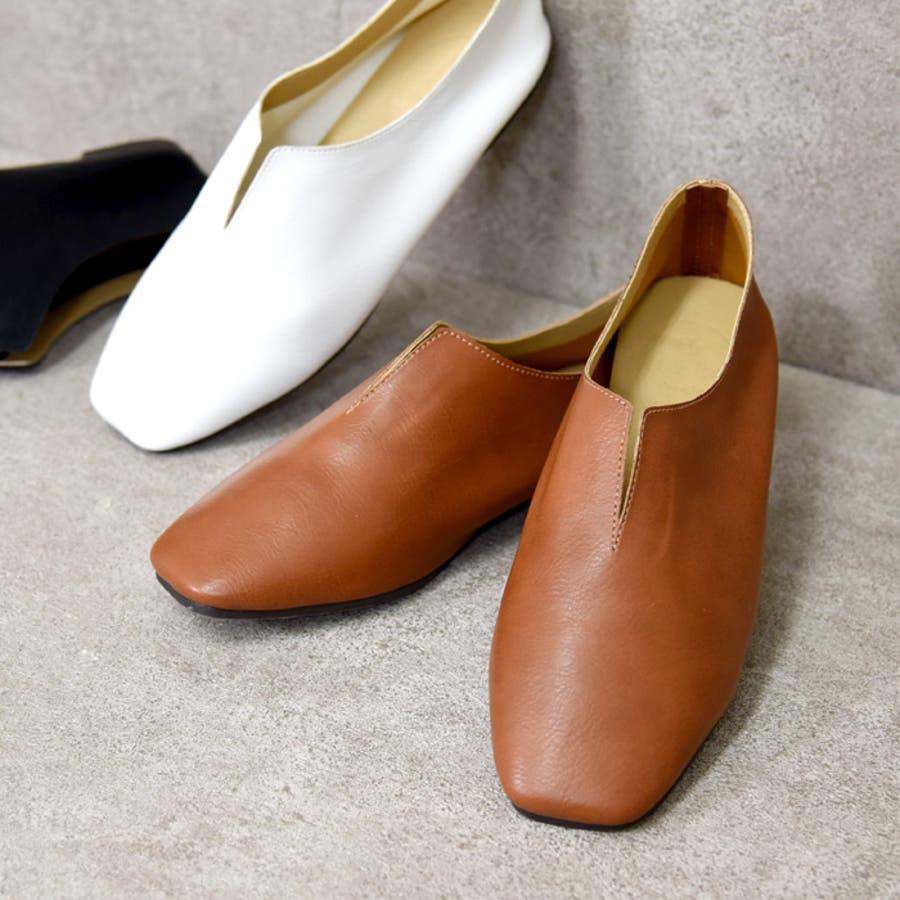靴 レディース パンプス スリッポンバブーシュ おしゃれ 大人 柔らかい 軽い スクエアトゥ ブラック ベージュ ブラウン ホワイト 黒 NOFALLSANGO 21673 1