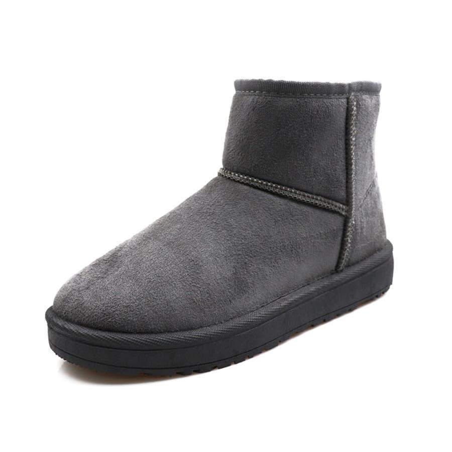 ショート丈ムートンブーツ シューズ ブーツ履きやすい 歩きやすい レディース ムートン ショートブーツ ブラック キャメル ベージュ グレー 黒 NOFALL sangoノーフォール サンゴ 3107 23