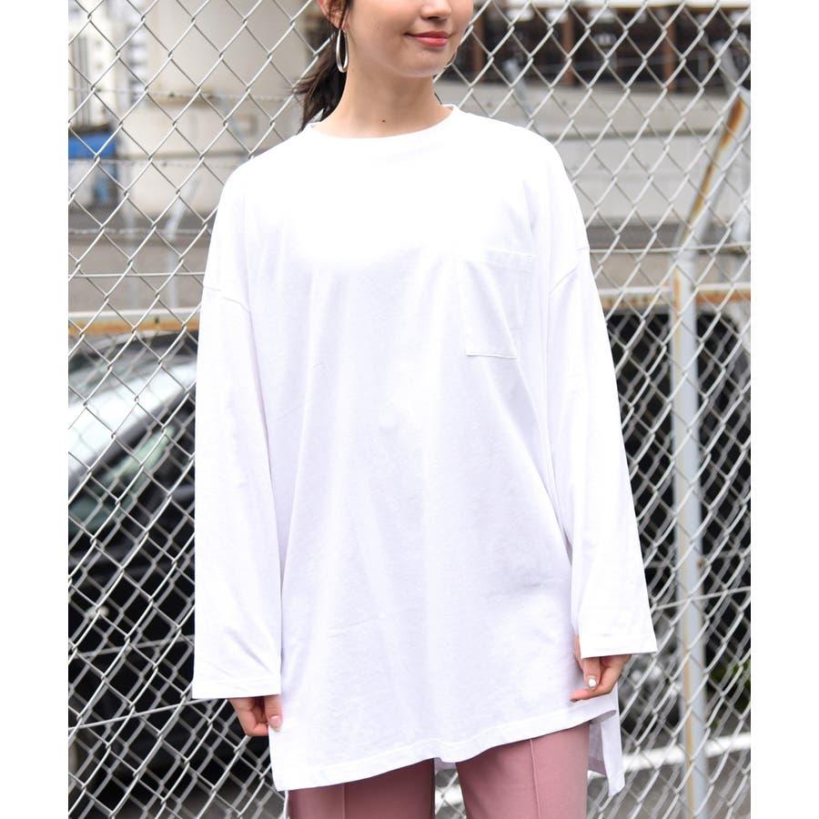 天使プリントロンT レディース 長袖 18