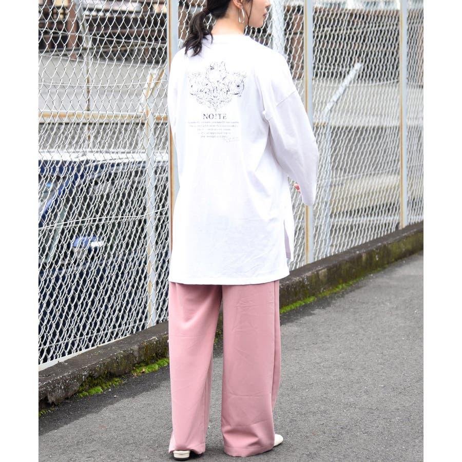 天使プリントロンT レディース 長袖 4