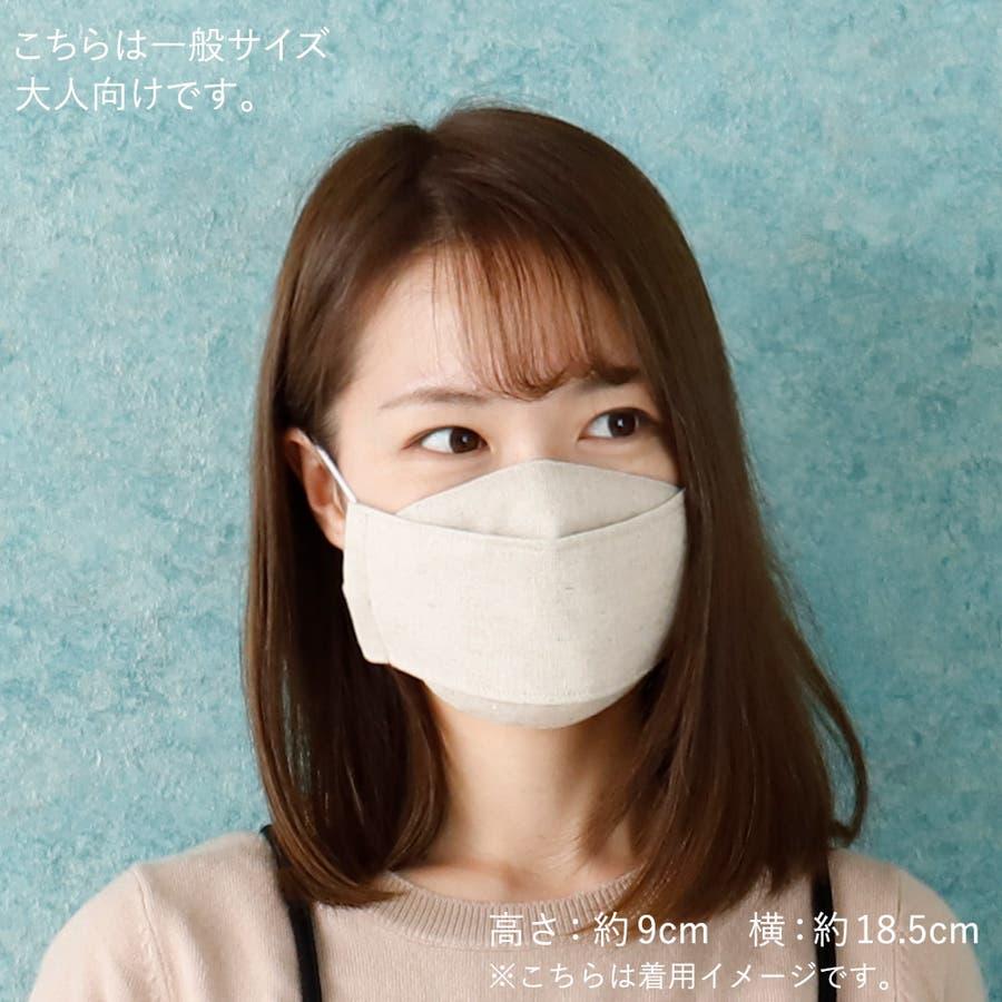 夏用マスク 大人マスク 舟形 麻 ガーゼ ドット ホワイト 夏 西村大臣 涼しい 日本製 小さい 5