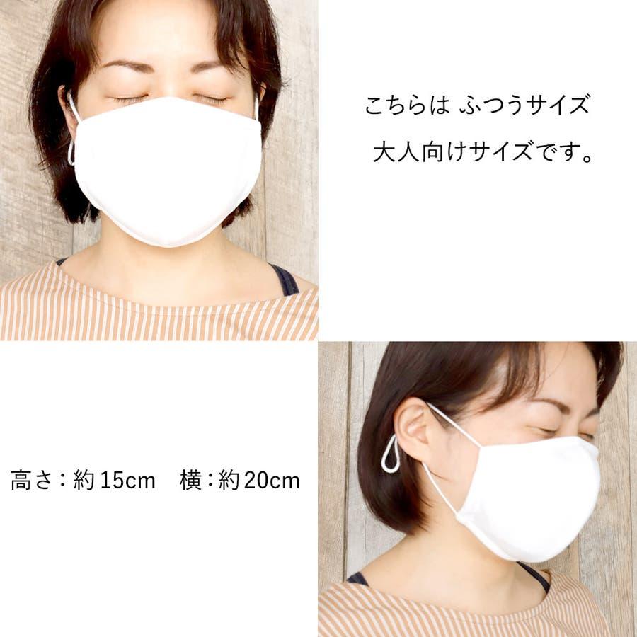 布マスク 大人マスク 立体 日本製 メッシュ 大人 小さいサイズ 都知事 アジャスター付 7