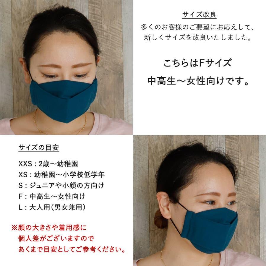 布マスク 大人マスク 舟形 大臣マスク 日本製 ガーゼ 綿 敏感肌 洗える 肌に優しい 5