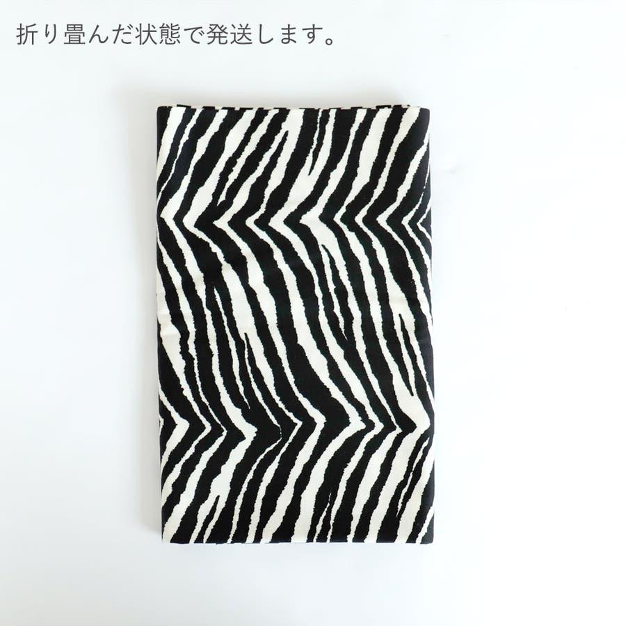 生地 カット生地 アニマル柄 日本製 モノクロ 綿 コットン ハンドメイド 手作り 4