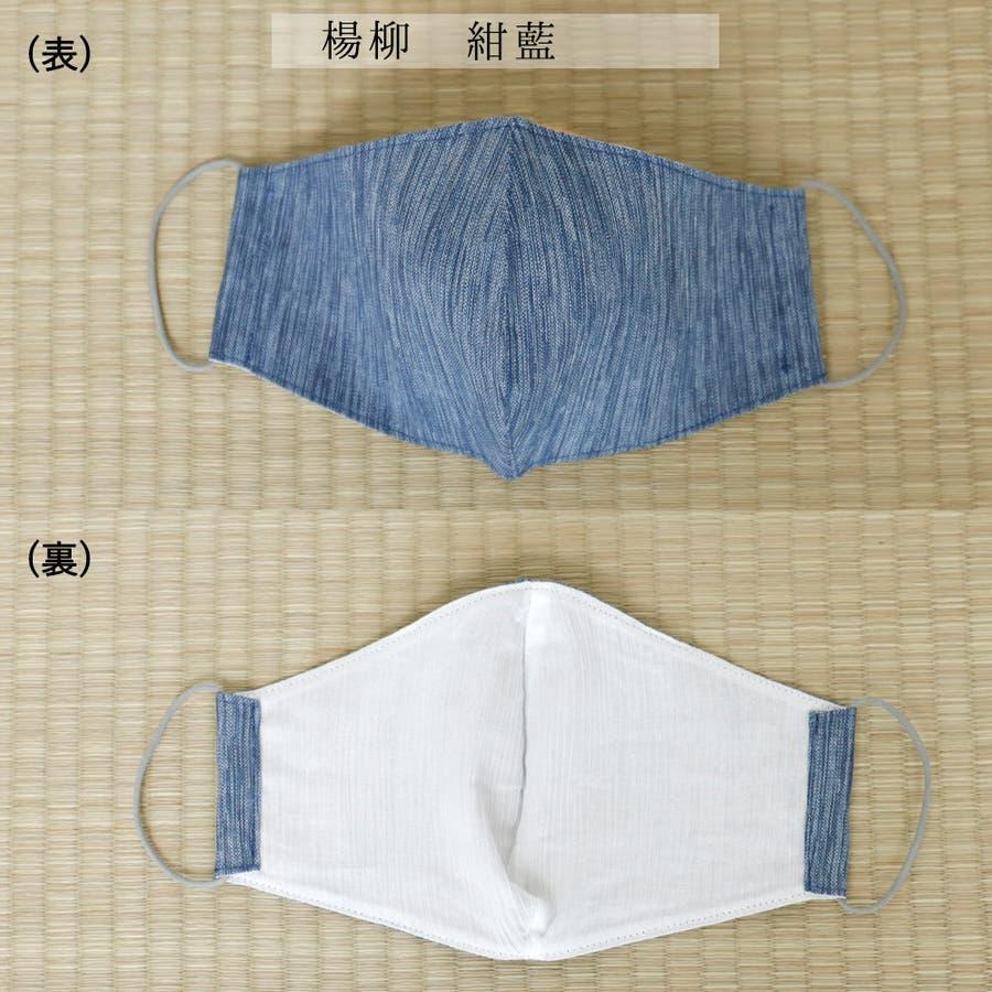 布マスク 大人マスク 立体 高島ちぢみ 大きめ立体 日本製 綿 クレープ 楊柳 敏感肌 肌に優しい 3