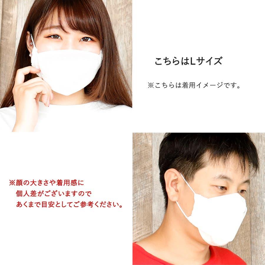 布マスク 大人マスク 舟形 大臣マスク 大きいサイズ 高島さらし 日本製 綿 白 肌に優しい 5