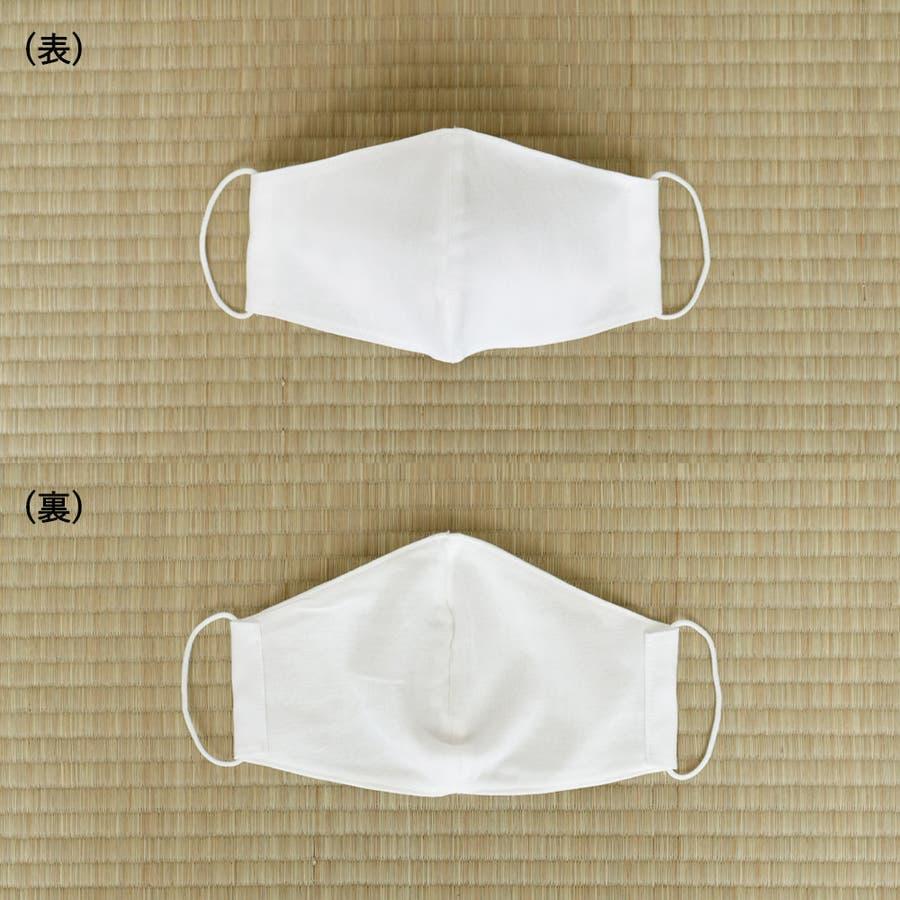 布マスク 大人マスク 立体 高島さらし 大きめ立体 さらし 白 日本製 綿 敏感肌 肌に優しい 2