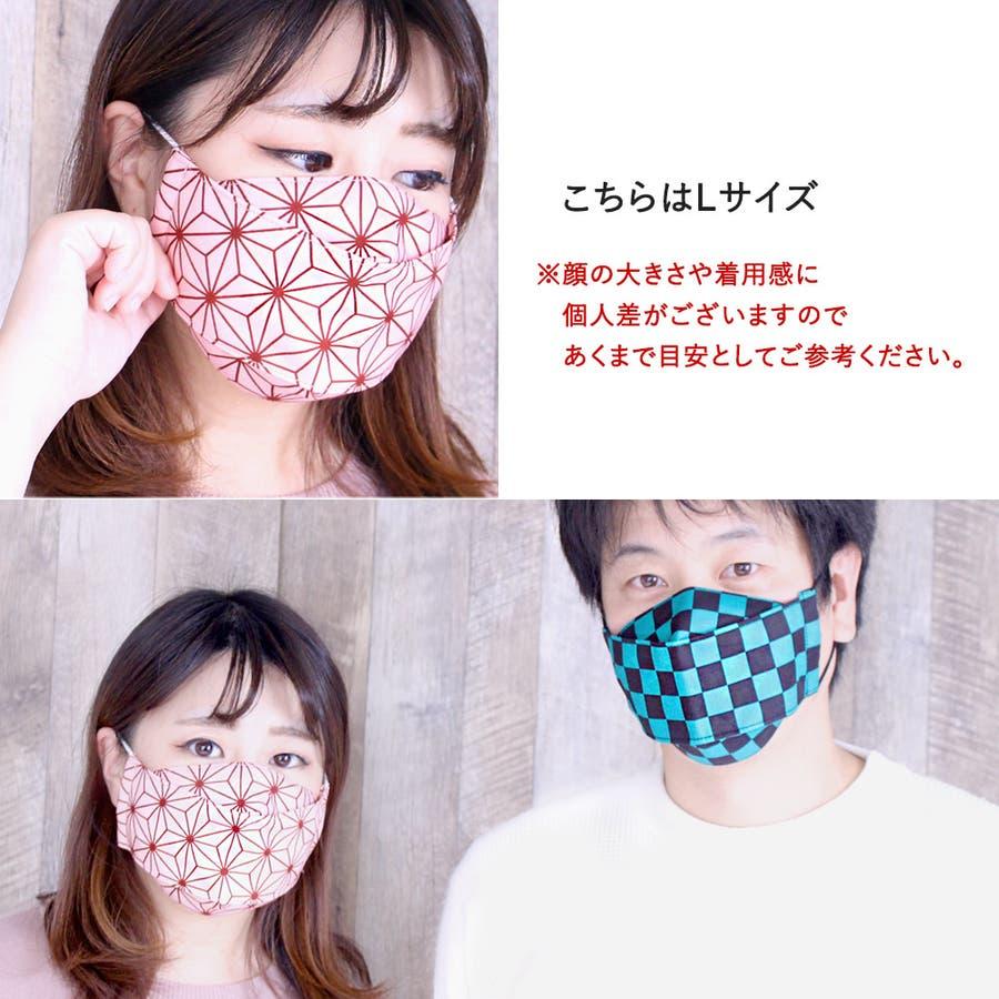 布マスク 大人マスク 舟形 大臣マスク 大きいサイズ 日本製 綿 6