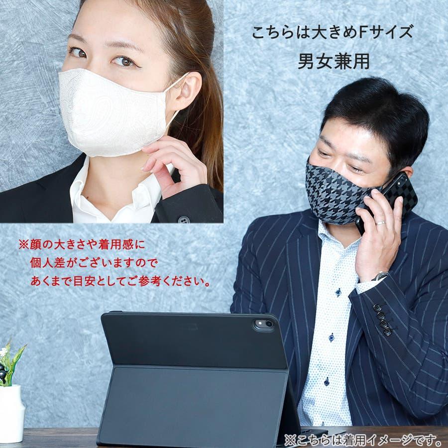 布マスク 大人マスク 立体 5