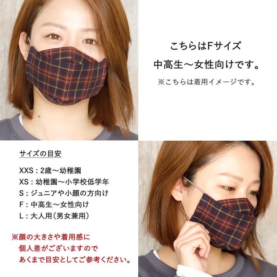 布マスク 大人マスク 舟形 5
