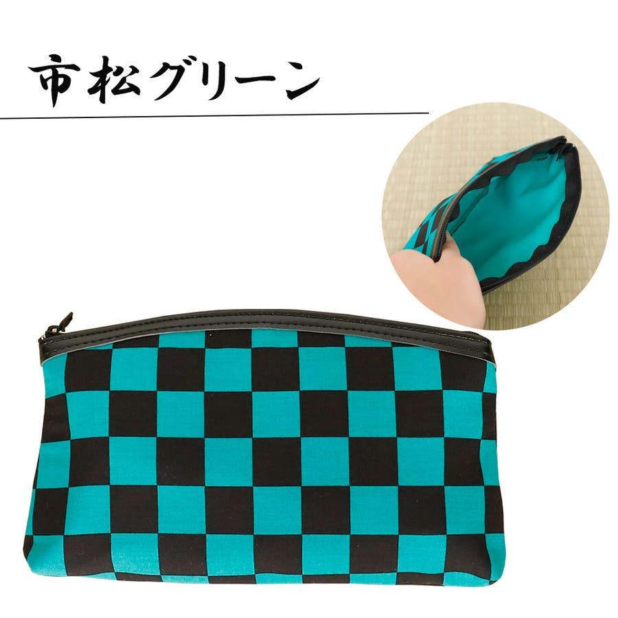 ポーチ 持運び 携帯 おしゃれ 日本製 小物入れ 和柄 2