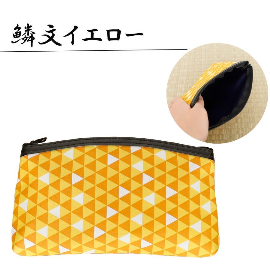 ポーチ 持運び 携帯 おしゃれ 日本製 小物入れ 和柄 4