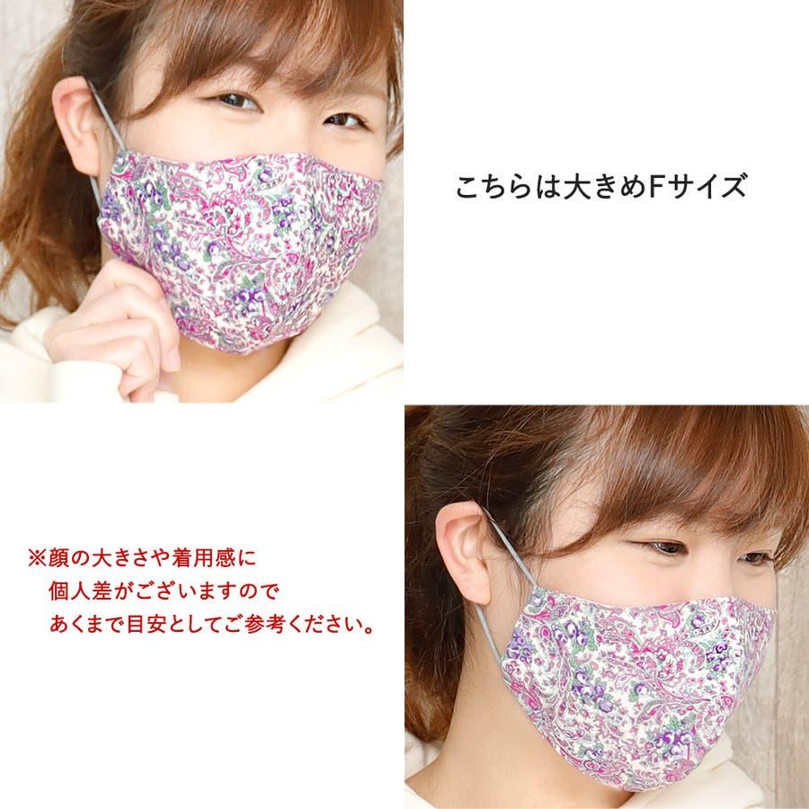 布マスク 大人マスク 大きめ立体 5