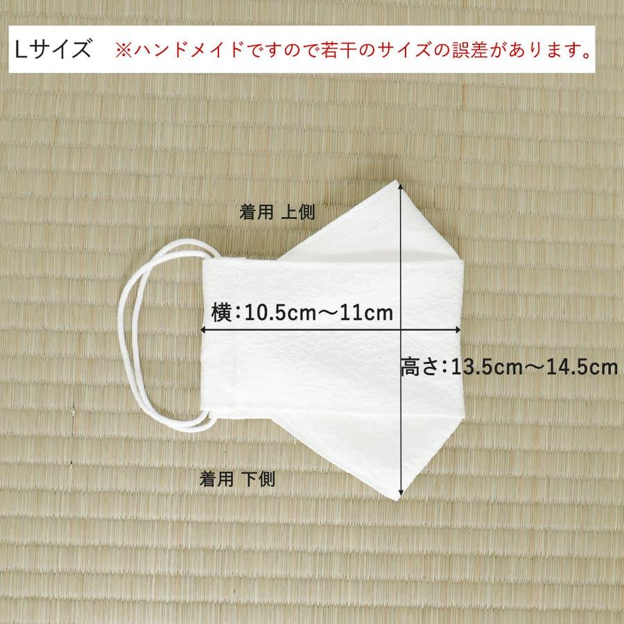 布マスク 大人マスク 舟形 大臣マスク 絹 シルク 日本製 ホワイト 男女兼用 7