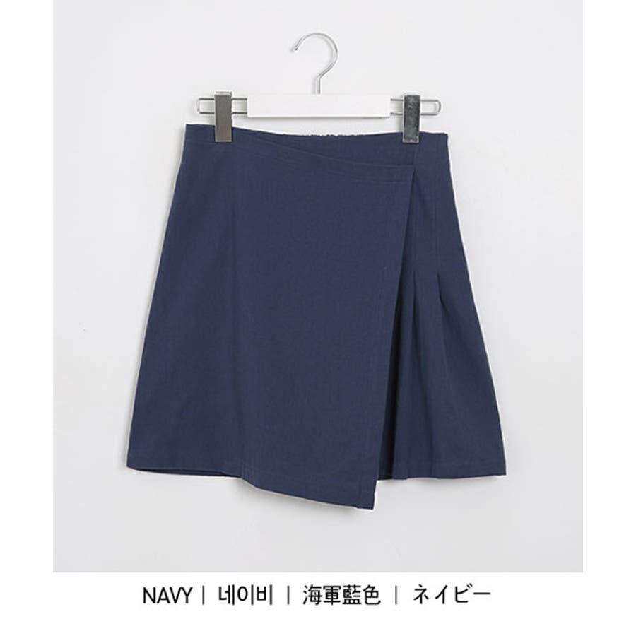 SONYUNARA(ソニョナラ)スクエアネックラップスカートセットアップ韓国 韓国ファッション 夏 夏休み リネンセットアップラップスカート デイリー デート スクエアネック 半袖 5