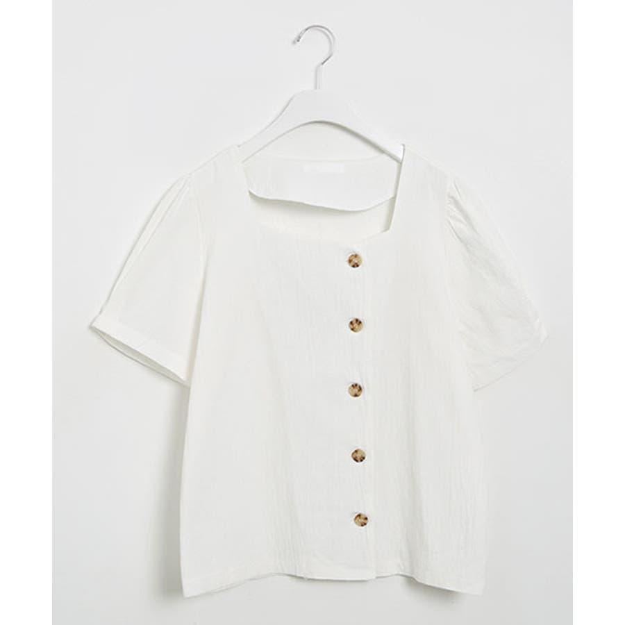 SONYUNARA(ソニョナラ)スクエアネックラップスカートセットアップ韓国 韓国ファッション 夏 夏休み リネンセットアップラップスカート デイリー デート スクエアネック 半袖 6