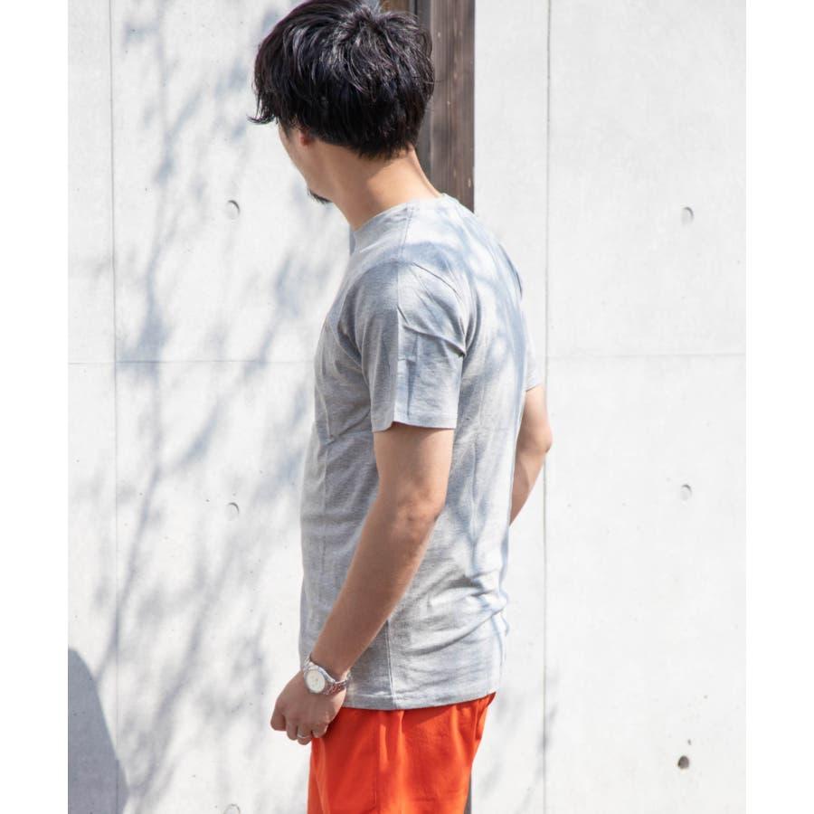 サガラ刺繍 星条旗 CITYロゴ クルーネック 半袖 Tシャツ 4