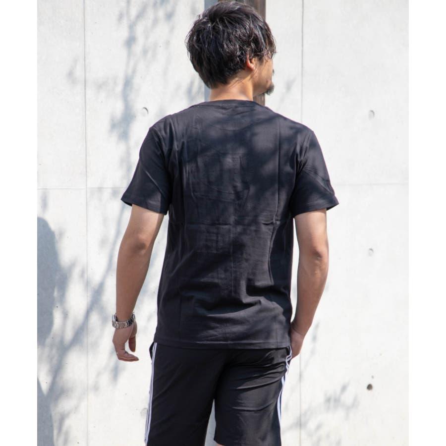サガラ刺繍 星条旗 CITYロゴ クルーネック 半袖 Tシャツ 8