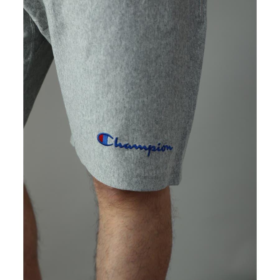 Champion C3-P507 リバースウィーブ ロゴ刺繍 ワンポイント ショートパンツ/ハーフパンツ 8